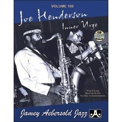 Image for Play A Long Vol 108 Joe Henderson Inner Urge (Book and CD) from SamAsh