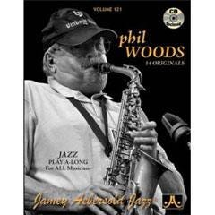 Image for Vol. 121-Phil Woods (Book and CD) from SamAsh