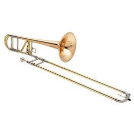 Image for XO XO1236 Professional Bb/F Tenor Trombone - Rose Brass Bell from SamAsh