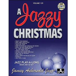 Image for AJazzy Christmas Vol. 129 (Book and CD) from SamAsh