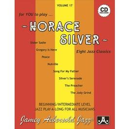 Jamey Play A Long Vol 17 Horace Silver (Book & 2 CD'S )