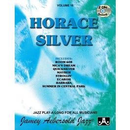 Jamey Play A Long Vol 18 Horace Silver (Book & 2CD'S