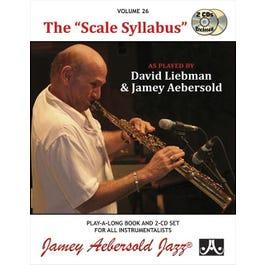 Jamey Play A Long Vol 26 The Scale Syllabus (Book & 2CD'S)