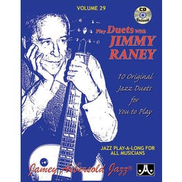 Jamey Play A Long Vol 29 Play Duets with Jimmy Raney (Book and CD)