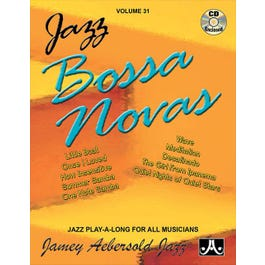 Jamey Play A Long Vol 31 Jazz Bossa Novas (Book and CD)