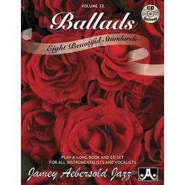 Jamey Play A Long Vol 32 Ballads (Book and CD)