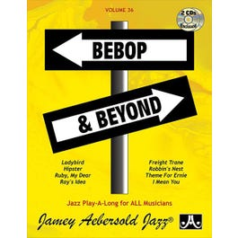 Jamey Play A Long Vol 36 Bebop and Beyond (Book and CD)