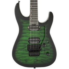 Image for Pro Series Dinky DK2Q Electric Guitar (Transparent Green Burst) (Demo) from Sam Ash