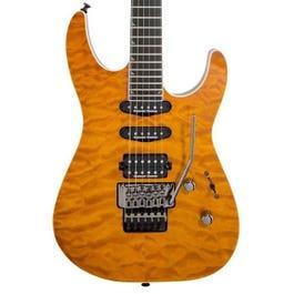 Image for Pro Series Soloist SL3Q MAH Electric Guitar (Dark Amber) (Demo) from Sam Ash