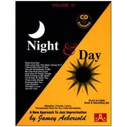 Image for Play A Long Vol 51 Night and Day (Book and CD) from SamAsh