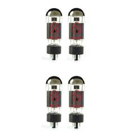 JJ Tubes 6L6GC Power Vacuum Tube, Matched Quad