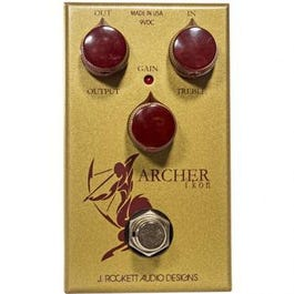 J. Rockett Audio Designs Archer Ikon Overdrive/Boost Guitar Effects Pedal