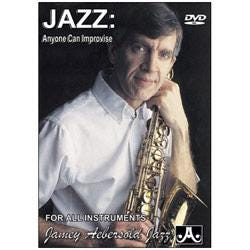 Image for Anyone Can Improvise Jazz (DVD) from SamAsh