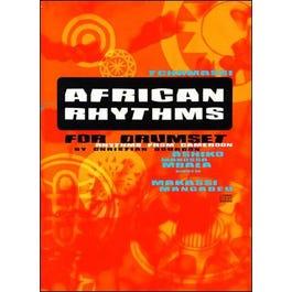 Jamey African Rhythms For Drumset-Book/CD