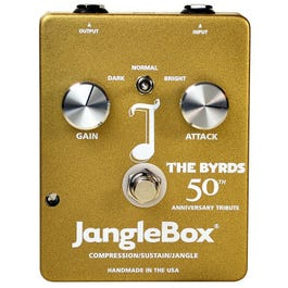 Image for The Byrds 50th Anniversary Tribute JangleBox Compressor Sustainer Effects Pedal from SamAsh