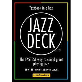 Aebersold Jazz Deck - Textbook in a box