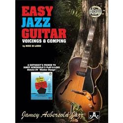 Image for Easy Jazz Guitar: Voicings & Comping (Book and 2CDS) from SamAsh
