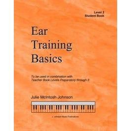 J. Johnson Music Publications Ear Training Basics, Level 2 Student Book & CD