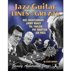 Image for NEW! Jazz Guitar Lines Of The Greats from SamAsh