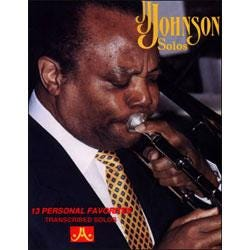 Image for J.J. Johnson Solos-Book Only from SamAsh
