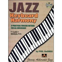 Image for Jazz Keyboard Harmony Book and CD from SamAsh