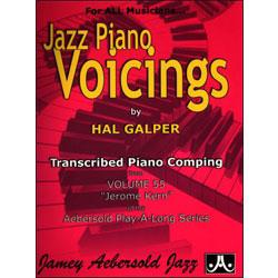 Image for Transcribed Piano Voicings From Volume 55 Jerome Kern from SamAsh