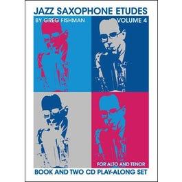 Image for Jazz Saxophone Etudes Volume 4 from SamAsh