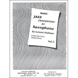 Image for Basic Jazz Conception For Saxophone Volume 2 (Book and CD) from SamAsh