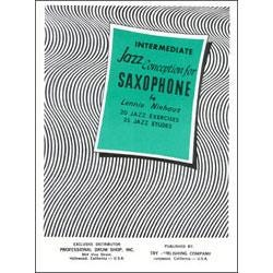 Image for Intermediate Jazz Conception for Saxophone (Book and CD) from SamAsh