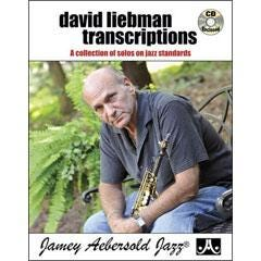 Image for David Liebman Transcriptions - A Collection of Solos on Jazz Standards-Tenor Saxophone (Book and CD) from SamAsh