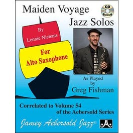 Image for Maiden Voyage Jazz Solos For Alto Sax (Book and CD) from SamAsh