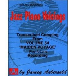 Image for Jazz Piano Voicings from Play A Long Volume 54 Maiden Voyage from SamAsh