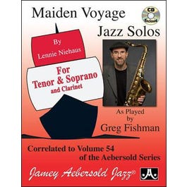 Image for Maiden Voyage Jazz Solos For Tenor Sax (Book and CD) from SamAsh