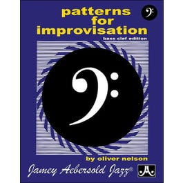Image for Patterns For Improvisation - Bass Clef Edition from SamAsh