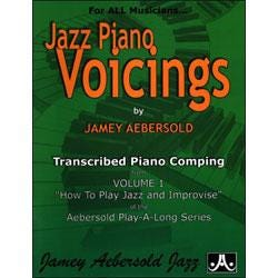 Image for Piano Voicings From The Volume 1 Play A Long (How To Play Jazz And Improvise) from SamAsh