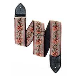 "Jodi Head 2.5"" Queens Floral Tapestry Guitar Strap"