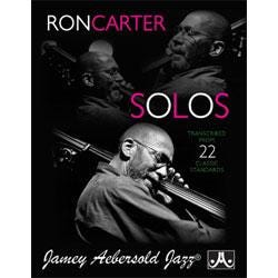 Image for Ron Carter Solos Transcribed From 22 Classic Standards from SamAsh