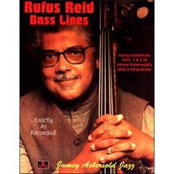Image for Rufus Reid Bass Lines Transcribed from Vol 1 and 3 of Aebersold's Play A Long S from SamAsh