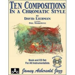 Image for Ten Compositions In A Chromatic Style By David Liebman (Book and CD) from SamAsh