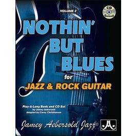 Aebersold Vol. 2 Nothin' But Blues for Jazz Guitar