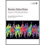 Kendor Music Kendor Debut Solos - Eb Alto Sax with MP3s