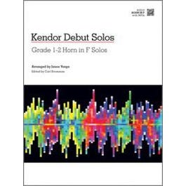 Kendor Music Kendor Debut Solos - Horn in F with MP3s