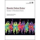 Kendor Music Kendor Debut Solos - Trombone - Piano Accompaniment-