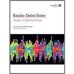 Kendor Music Kendor Debut Solos - Baritone T.C. with MP3s