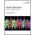 Kendor Music Kendor Debut Solos - Baritone T.C. & B.C. - Piano Accompaniment