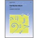 Kendor Music First Recital Album-Alto Saxophone Solo with Piano Accompaniment