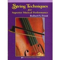 Kjos String Techniques for Superior Musical Performance - Cello