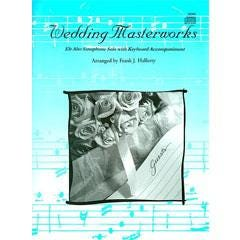 Image for Wedding Masterworks-Alto Sax Solo w. Keyboard Accompaniment (Book and CD) from SamAsh