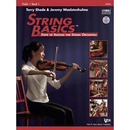 Kjos String Basics - Book 1 - Violin (Book and DVD)