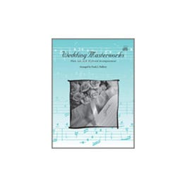 Image for Wedding Masterworks-Tenor Sax Solos w. Keyboard Accompaniment (Book and CD) from SamAsh